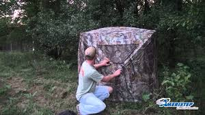 Pop Up Blinds For Sale How To Set Up A Hub Style Hunting Blind Ameristep Bone Collector