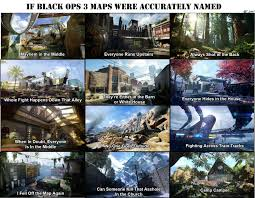 List Of Cod4 Maps If Black Ops 3 Maps Were Named Accurately Gaming