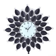 bust of decorative fancy wall clocks home decorations ideas