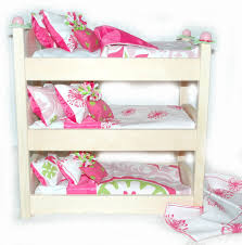 18 Inch Doll Bunk Bed Doll Bunk Bed Make A Wish American Made Doll Bed