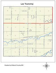Owosso Mi Map County Of Midland Michigan U003e Equalization U003e Tax Maps U003e Lee Township
