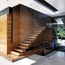 Lobby Stairs Design Caisson Studios