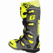 waterproof motocross boots new gaerne 2018 mx sg 12 limited edition dirt bike fluro yellow