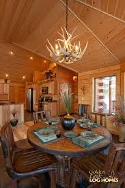 Log Home Open Floor Plans Golden Eagle Log And Timber Homes Log Home Cabin Pictures