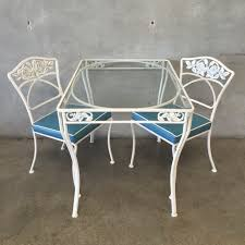 wrought iron vintage patio set u2013 urbanamericana