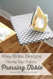 quilting ironing board table home dec fabric recovering a pressing table fabrics blog and
