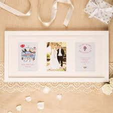 Personalized Wedding Photo Frame Personalised Wedding Gifts For Bride And Groom By Forever Bespoke