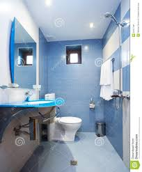 blue bathroom designs modern blue bathroom stock image image of home tiles 24477461
