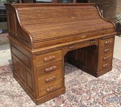 Small Oak Roll Top Desk Quartersawn Oak 66 Roll Top Desk Inside Rolltop Decorations 13