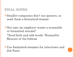 Scannable Resume Sample by The Scannable Resume