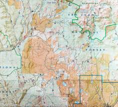 Colorado Springs Trail Map by Trail Map Of Pagosa Springs Bayfield Colorado 145
