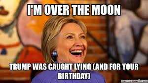 Adult Birthday Memes - birthday from hillary