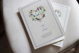 wedding ceremony program covers 30 of the best ceremony booklet ideas weddingsonline