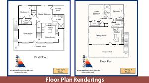 floor plan renderings lucas art works