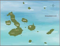 Galapagos Map San Jose Galapagos Cruise The Itineraries