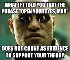 Conspiracy Theorist Meme - after a frustrating argument with my conspiracy theory happy