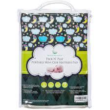 Crib Mattress Cushion 1 Best Pack N Play Waterproof Mattress Pad Fits All Mini