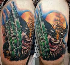 shaded hulk tattoos