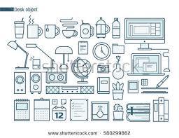 Line Desk Line Art Stock Images Royalty Free Images U0026 Vectors Shutterstock