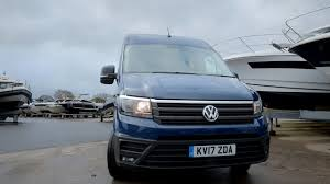 volkswagen crafter dimensions 2017 volkswagen crafter uk spec youtube