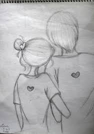 easy pencil sketch of couples google search doodles and
