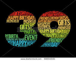 Happy 39th Birthday Wishes 39th Birthday Stock Images Royalty Free Images Vectors