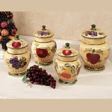 decorative kitchen canister sets kitchen unique kitchen storage jar sets with coffee themed