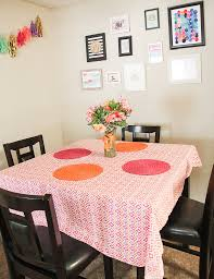 southern belle in training decorating a dining room on a budget