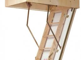 19 folding wooden loft ladders skylark 3 section electric timber
