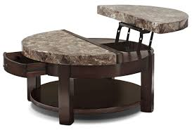 furniture fascinating round lift top coffee table design ideas