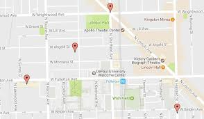 depaul map cwb chicago depaul during overnight robbery attempt