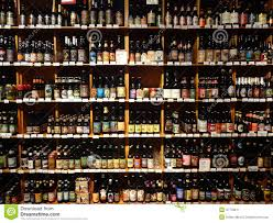 Liquor Display Shelves by A Huge Selection Of Beer On Supermarket Shelves Editorial Photo