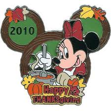 your wdw store disney happy thanksgiving pin 2010 minnie mouse