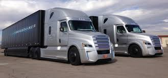 freightliner behind the wheel of freightliner u0027s inspiration autonomous truck