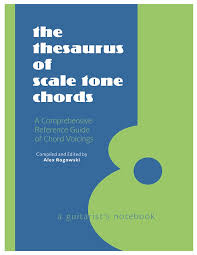 thesaurus confirmation the thesaurus of scale tone chords a guitarist s reverb