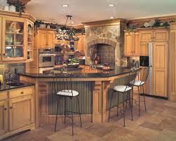 Tuscan Style Kitchen Cabinets Tuscan Style Birch Kitchen Traditional Kitchen Cleveland