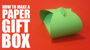 paper gift boxes how to make a paper gift box diy gift box tutorial