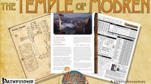 world of aetaltis the temple of modren by marc tassin u2014 kickstarter