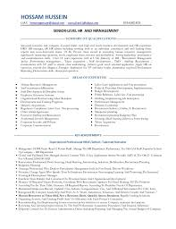 Sample Resume For Hr by Human Resource Resume Hr Cv Example Hr Cv Examples And Template 2