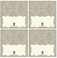 Blank Tent Card Template by 19 Printable Place Cards Baby
