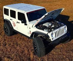 hellcat jeep engine hellcat package from dakota customs puts a hemi in a jeep insidehook