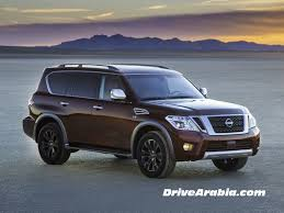 nissan showroom qatar 2017 nissan armada is a facelifted patrol drive arabia