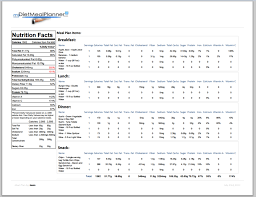 meal planner template free daily and weekly meal planner template