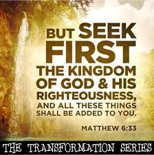 Seeking Where The Things Are Seeking God S Kingdom Sermon Of The Week New