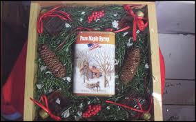 Maine Gift Baskets Salmon Brook Vally Producers Of Organic Maine Maple Syrup Square
