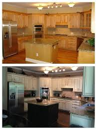 how to paint stained kitchen cabinets white pin by kristie mendoza on my kitchen makeover refacing