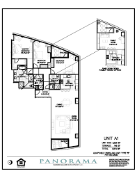 panorama floor plans 2 bedroom 3 bath panorama towers las vegas