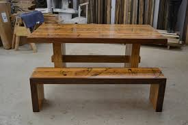 wooden table and bench oak benches for dining tables ebizby design