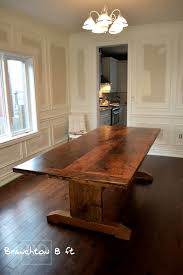Harvest Kitchen Table by Trestle Tables Ontario Rustic Trestle Table Hd Threshing