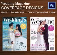 wedding magazine template beautiful free wedding magazines magazine cover psd template 31